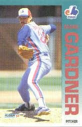 1992 Fleer 481 Mark Gardner