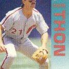 1992 Fleer 546 Dickie Thon