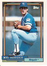 1992 Topps 106 Mike Boddicker