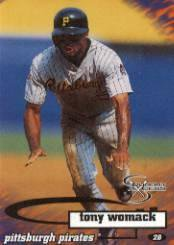 1998 SkyBox Dugout Axcess #37 Tony Womack