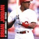 1992 Jimmy Dean Rookie Stars #3 Brian Jordan