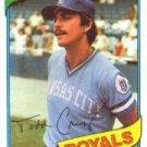 1980 Topps #492 Todd Cruz RC