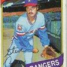 1980 Topps #144 Steve Comer