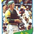 1980 Topps #34 Jeff Newman DP