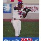 1986 Huntsville Stars Jennings #45 Roy Johnson