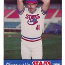 1986 Huntsville Stars Jennings #41 John Cox