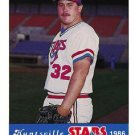 1986 Huntsville Stars Jennings #32 Scott Whaley