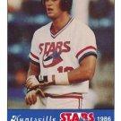 1986 Huntsville Stars Jennings #16 Terry Steinbach