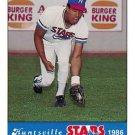 1986 Huntsville Stars Jennings #14 Dave Wilder