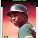 1986 Topps 8 Dwayne Murphy