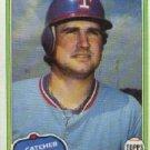 1981 Topps #95 Jim Sundberg