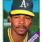 1988 Topps 424 Dwayne Murphy