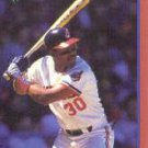 1989 Score Hottest 100 Stars #55 Joe Carter