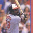 1989 Score Hottest 100 Stars #83 Eddie Murray
