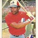 1984 Fleer #281 Tim Raines