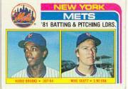 1982 Topps #246 Hubie Brooks/Mike Scott TL