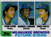 1982 Topps #333 Frank DiPino RC/Marshall Edwards RC/Chuck Porter RC