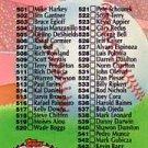 1992 Stadium Club 590 Checklist 501-600