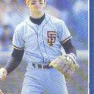 1986 Fleer Update #115 Robby Thompson  XRC
