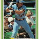 1981 Donruss 324 Charlie Moore