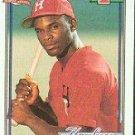 1991 Topps 113 Carl Everett RC