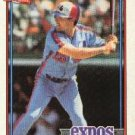 1991 Topps 483 Mike Aldrete