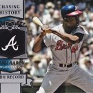 2013 Topps Chasing History #CH79 Hank Aaron