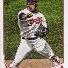 2013 Topps #397 Mike Aviles