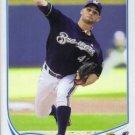 2013 Topps #439 Marco Estrada