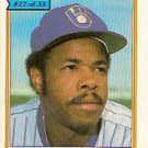 1984 Topps Cereal #27 Cecil Cooper