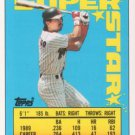 1990 Topps Sticker Backs #23 Benito Santiago