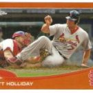 2013 Topps Chrome Orange Refractors #183 Matt Holliday