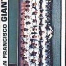 1973 Topps #434 San Francisco Giants TC