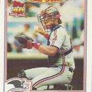 1991 Topps Glossy All Stars #9 Sandy Alomar Jr.