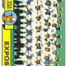 1979 Topps #606 Montreal Expos CL/Dick Williams MG