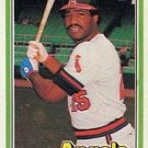 1981 Donruss 413 Don Baylor