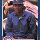 1986 Fleer #376 Reggie Patterson