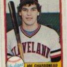 1981 Fleer #397 Joe Charboneau