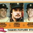 1981 Topps #626 Dave Steffen RC/Jerry Ujdur RC/Roger Weaver RC