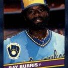 1986 Donruss 107 Ray Burris