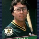 1986 Donruss 218 Dave Collins