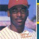 1987 Donruss Rookies #36 Mike Jackson
