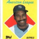 1988 Topps 392 Dave Winfield AS