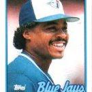 1989 Topps 325 Jesse Barfield
