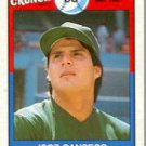 1989 Topps Cap'n Crunch #1 Jose Canseco