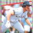 1989 Fleer 262 Mike Pagliarulo UER/(Wrong birthdate)