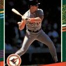1991 Donruss 597 Mickey Tettleton