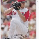 2008 Upper Deck First Edition #341 Aaron Harang