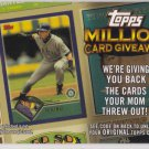 2010 Topps Million Card Giveaway #TMC24 Ichiro Suzuki