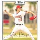 2008 Topps #358 John Patterson